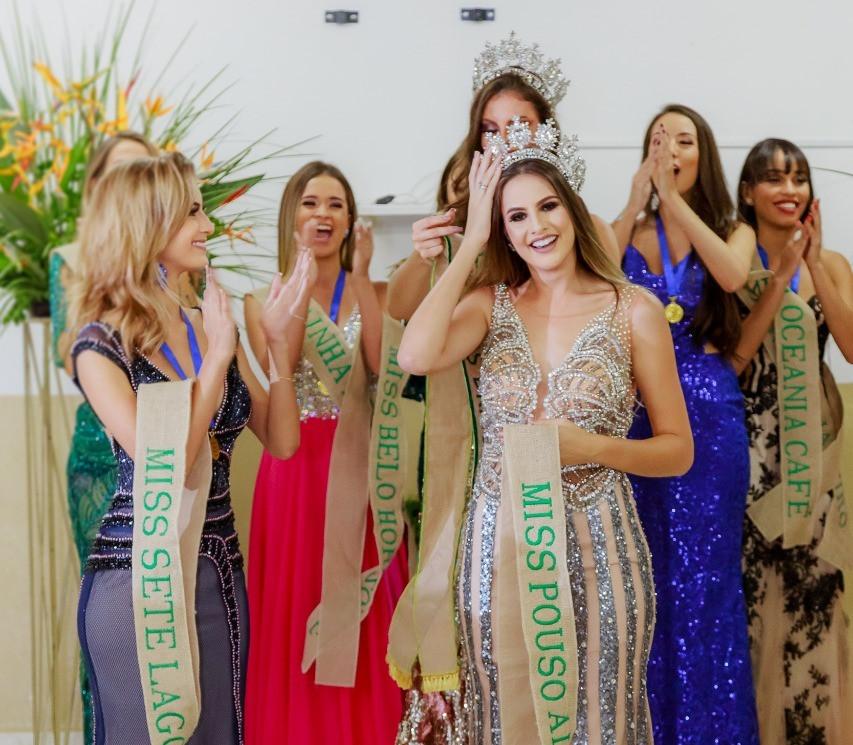Gabriela Vilela é leita Miss Brasil Café 2019 |  Fotos: Márcio Brito