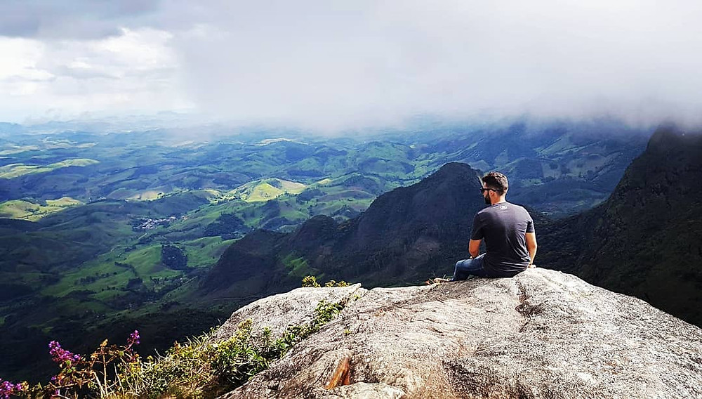 Tiago Ornelas no Pico do Boné