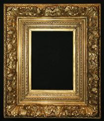 Cadre XIXème frise courante