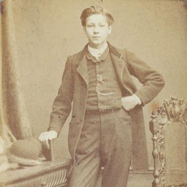 Jean Lebrun à 18 ans