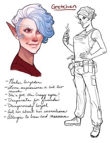 Gretchen character splat