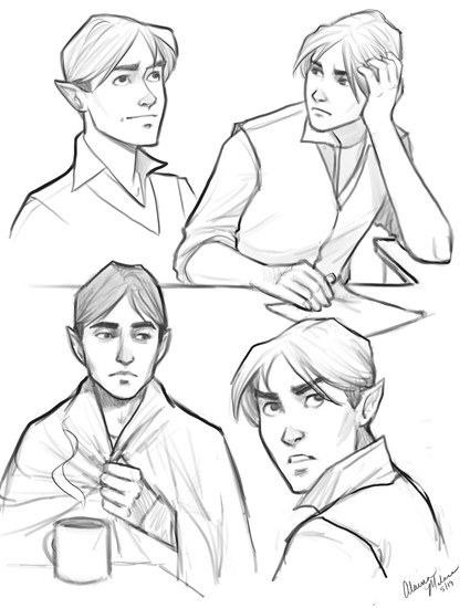 Ethan Sketches