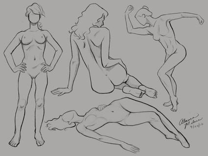 Female Figures