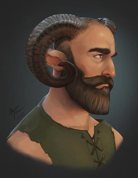 Bearded Satyr