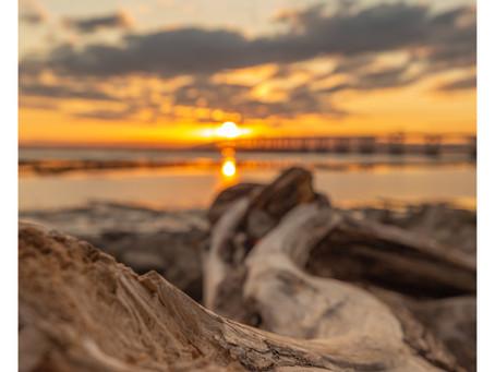Sunset at Severn Beach