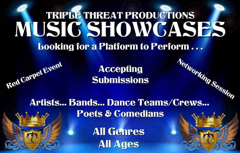 Triple Threat Productions Showcases
