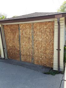 Emergency Garage Board Up