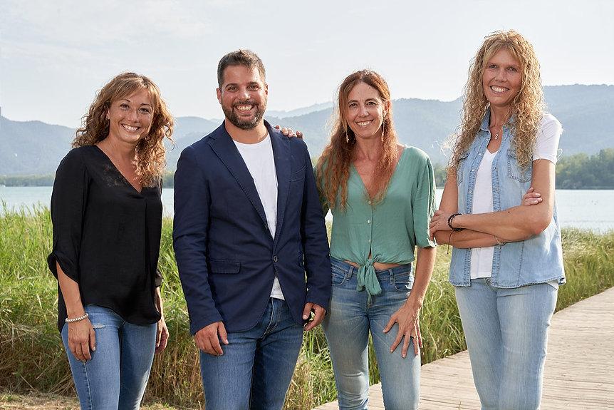 equipo de vida. Bienestar y salud con Mireia Cevera, Monica Cunill, Ester Coll i Alexandre Maset