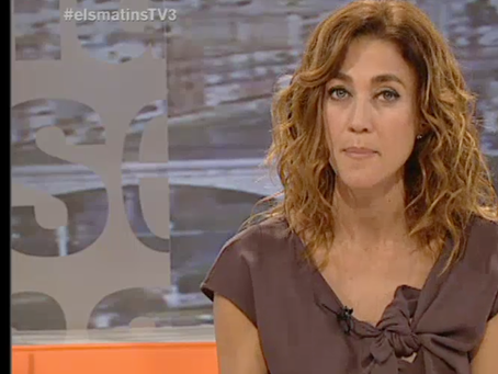 el duelo por la muerte de un hijo en TV3