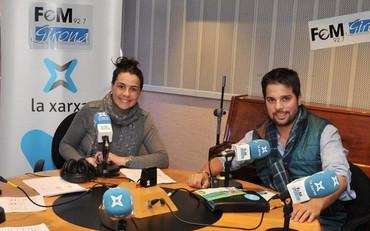 Alexandre Maset presentando VEIE en Fem Ràdio