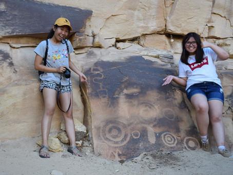 Pictographs in the Escalante River Canyon