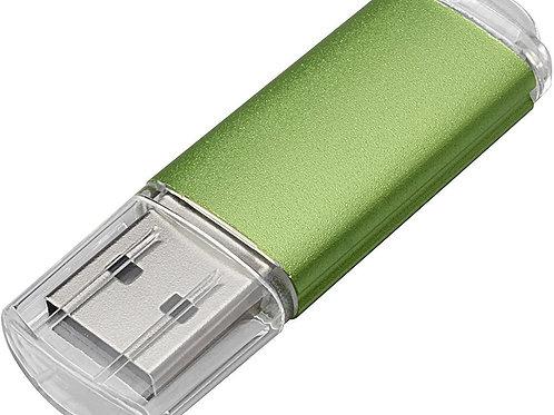Mama lass mich fliegen auf USB-STICK grün