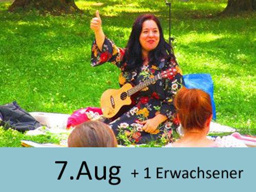 Eltern-Kind-Singen im Park 7.Aug 9:30 Uhr  (1 Erwachsener zusätzlich