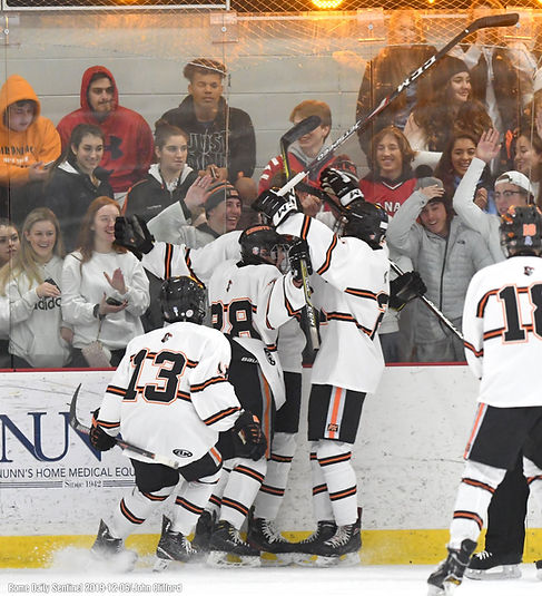 Goal in the Student Section!!