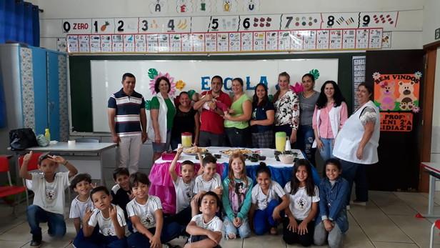 Projeto Integrador Professora Esilvana Colleraus Escola X Família