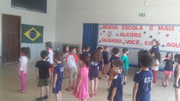 ATIVIDADES SEMANA DA PÁTRIA CMEI PROFª MARIA DE LOURDES