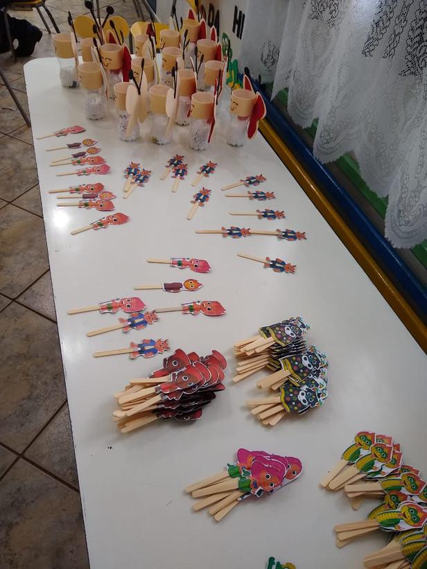 Atividades para comemorar o Folclore, Cmei Mônica