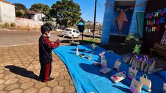 Escola santa maria realiza Pescaria Drive Thru