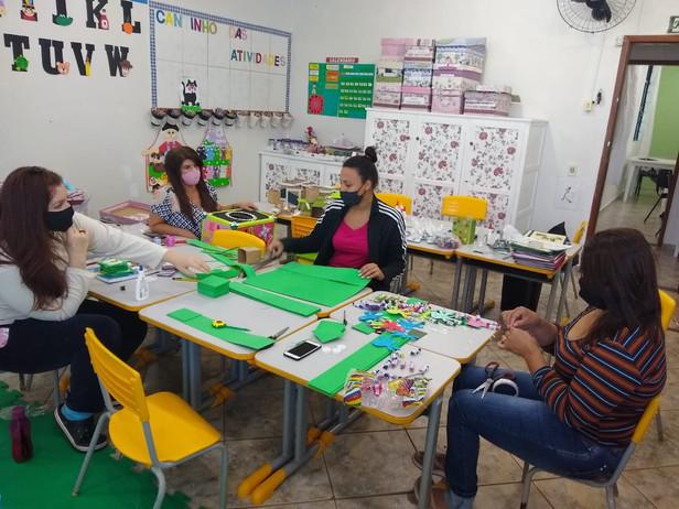 Oficinas Pedagógicas CMEI MÔNICA
