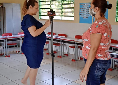 Aprendendo para ensinar : aulas via plataforma meet. 5 ano Prof Sandra - Escola Barzotto