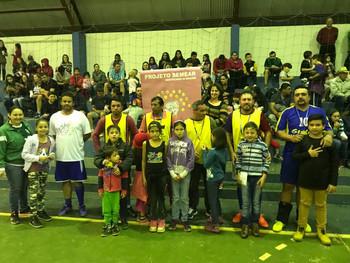 Escola Bento realiza Pai Bom de Bola
