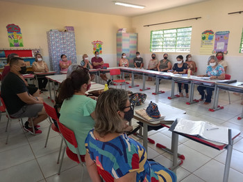 Distribuição de aulas para 2021