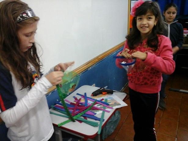 Alunos do 3º ano produzem brinquedos para realização do JEPP na Escola Prof. Elizabete