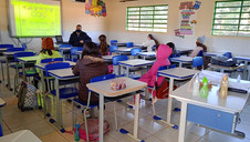 Início do segundo semestre com o retorno gradual dos alunos na Rede Municipal de Ensino