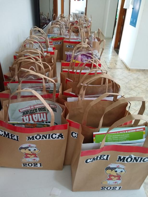 Cmei Monica - Projeto Saúde na Escola