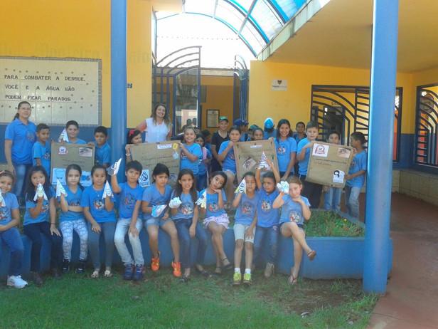 Trabalho sobre a dengue na Escola do Campo Monteiro Lobato