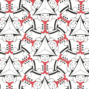 In de lijn van Escher