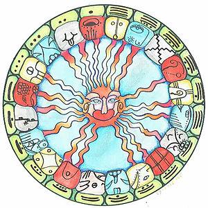 maya kalender mandala