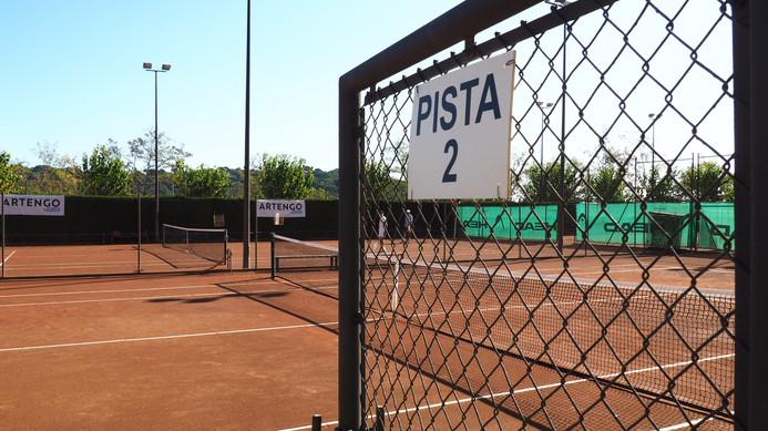 pistas de tennis y de padel