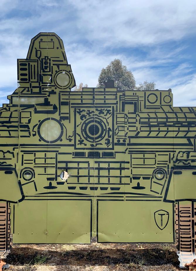 T-80U 2D