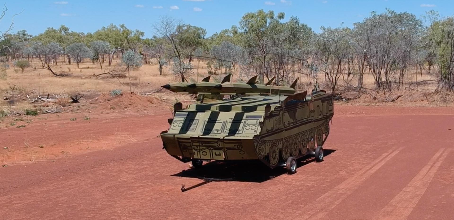 SA-6 mobile target