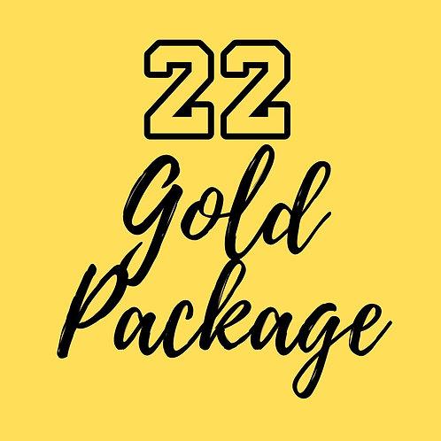 22 Sharpstown Gold Package