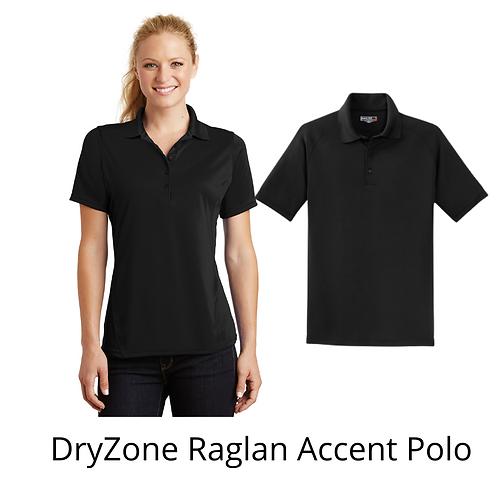 DryZone Raglan Accent Polo