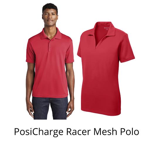 SportTek PosiCharge Racer Mesh Polo