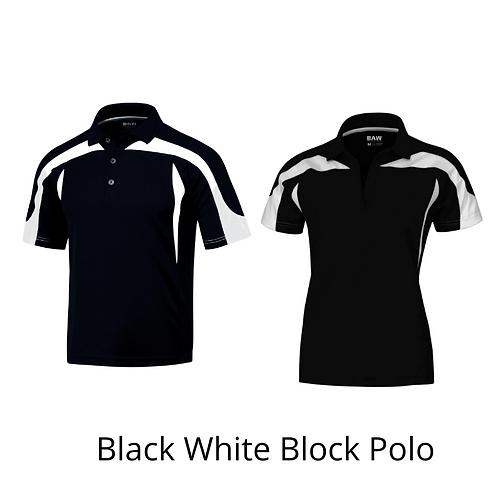 Black/White Color Block