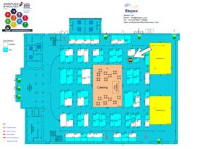 Workplace & Facilities 2020, RDS, Dublin - Floor Plan
