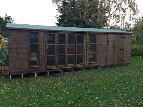 Bar with Storage Shed - All Sizes