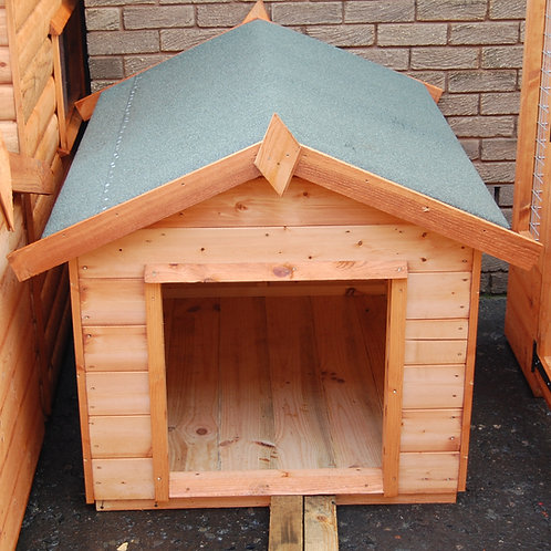 Apex Roof Dog Kennel All Sizes
