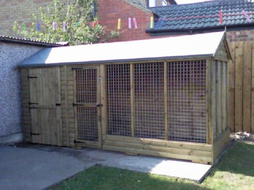 Deluxe Apex Kennel and Aviary - All Sizes