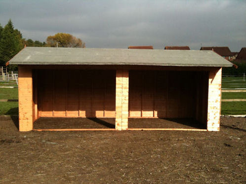 Field Shelter Double Entry 20x10