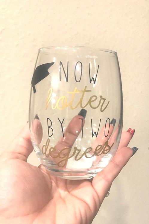 Graduation Wine Cup