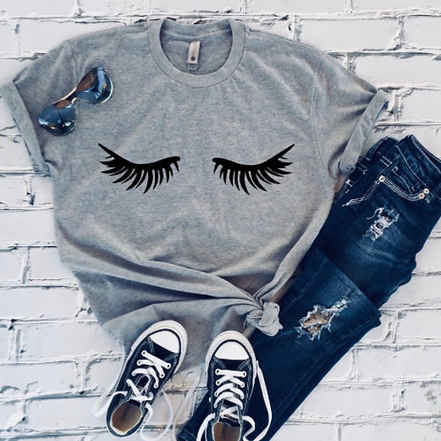Eyelashes shirt