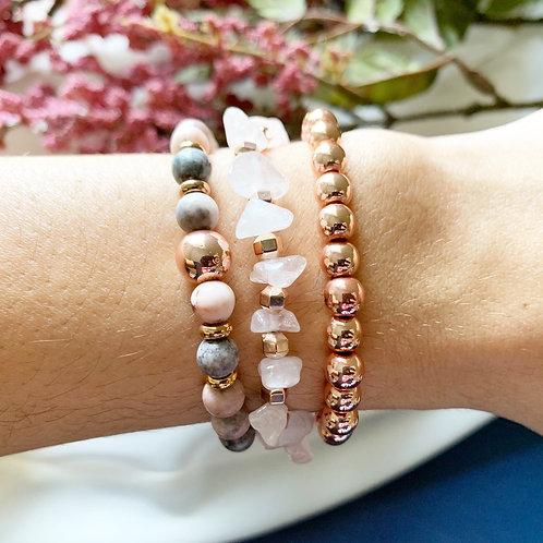 Nairi Rose Gold Bracelet