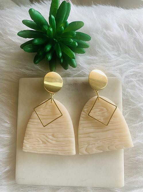 Wood u Earrings