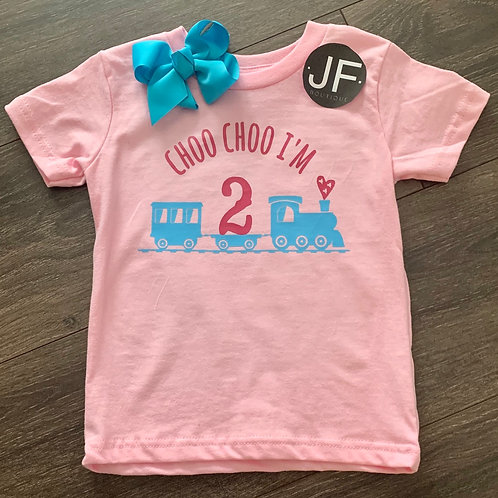 Choo choo shirt!
