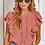 Thumbnail: Coral ruffle blouse